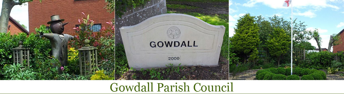 Header Image for Gowdall Parish Council